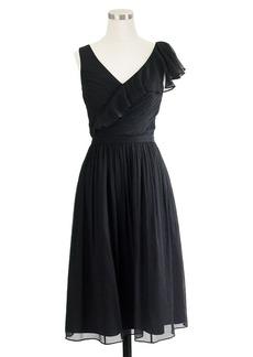 Serena dress in silk chiffon