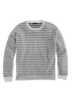 Shadow-striped sweater