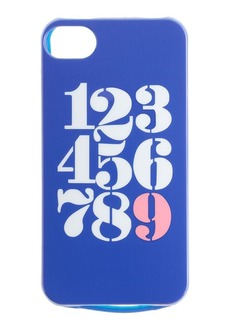 Shiny numbers case for iPhone® 4/4S