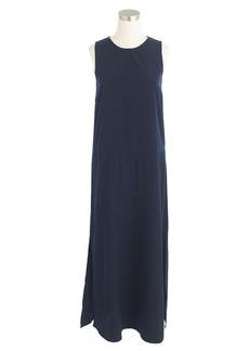 Side-slit maxi tank dress