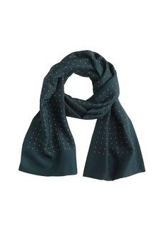 Silk tie scarf