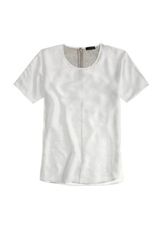Silky-front tee