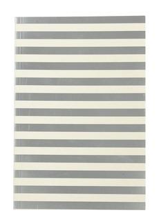 Silver-stripe notebook