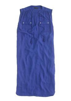 Sleeveless tassel tunic dress
