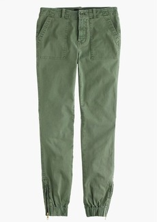 Slim cargo pant in stretch chino