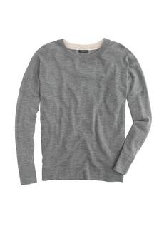 Slouchy merino sweater