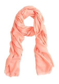 Solid cotton scarf