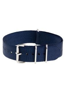 Solid watch strap