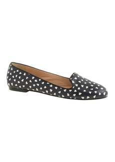 Sophie printed leather loafers