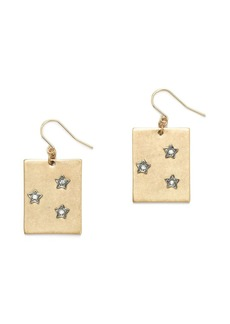 Starry sky earrings