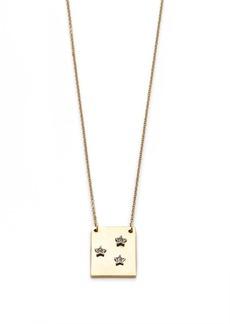 Starry sky pendant necklace