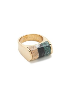Stone trio ring