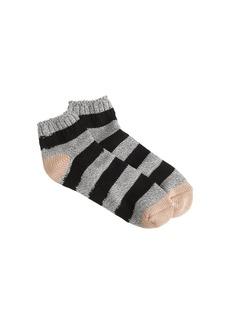 Stripe ankle socks