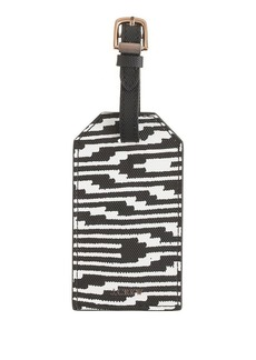 Stripe luggage tag