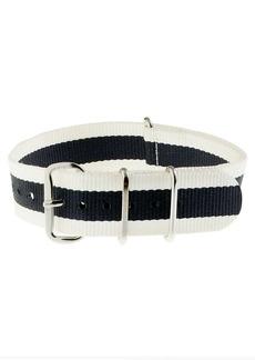 Stripe watch strap