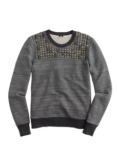 Studded sweatshirt