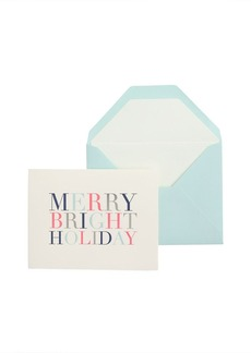 Sugar Paper® merry and bright holiday card