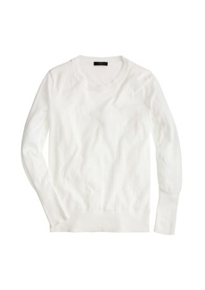 Summerweight cotton sweater