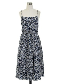 Sundress in blue floral