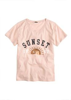 Sunset tee