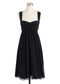 Suzy dress in silk chiffon