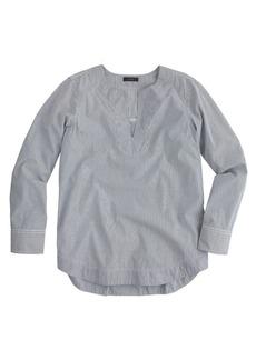 Tailored tunic in stripe