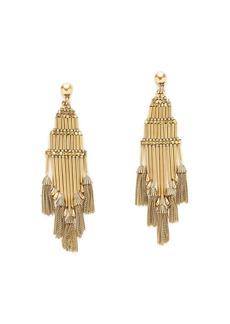 Tassel dangly earrings