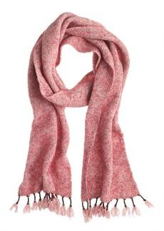 Tassel fringe scarf