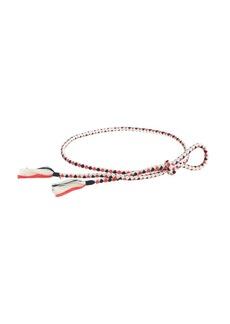 Tassel rope belt