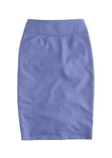 Telegraph pencil skirt in Super 120s wool