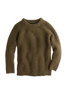 Texture-stitch sweater