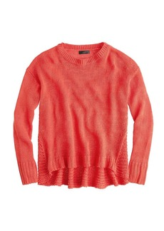 Textured beach sweater