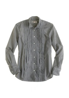 Thomas Mason® tuxedo shirt in gingham
