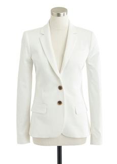 Thompson blazer in stretch cotton