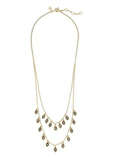 Tiered droplets necklace