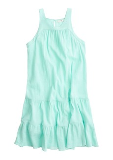 Tiered flutter beach dress