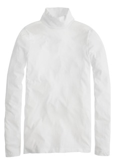 Tissue turtleneck tee