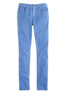 Toothpick jean in garment-dyed twill