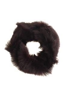 Toscana shearling infinity scarf