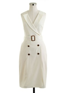 Trench dress in Super 120s