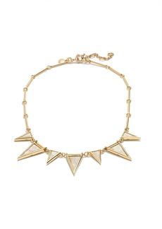 Triangle stone necklace