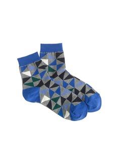 Triangle trouser socks
