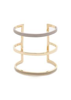 Triple bar cuff bracelet