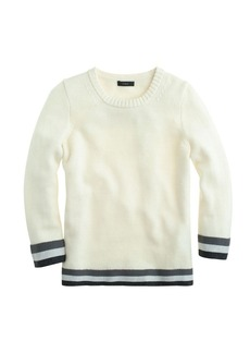Triple-tipped sweater