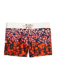 Tropical floral board shorts