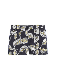 Tropical frond pull-on short