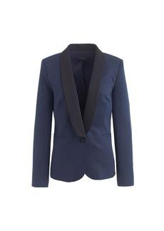 Two-tone tuxedo jacket