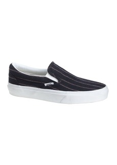 Unisex Vans® for J.Crew classic slip-on shoes in pinstripe wool