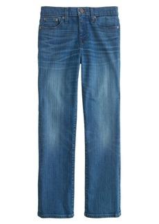 Vintage cropped jean in werner wash