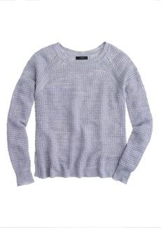 Waffle beach sweater